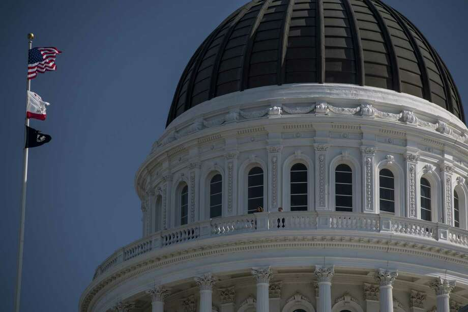 The California State Capitol building in Sacramento, California, on March 30, 2017. Photo: Bloomberg Photo By David Paul Morris. / © 2017 Bloomberg Finance LP