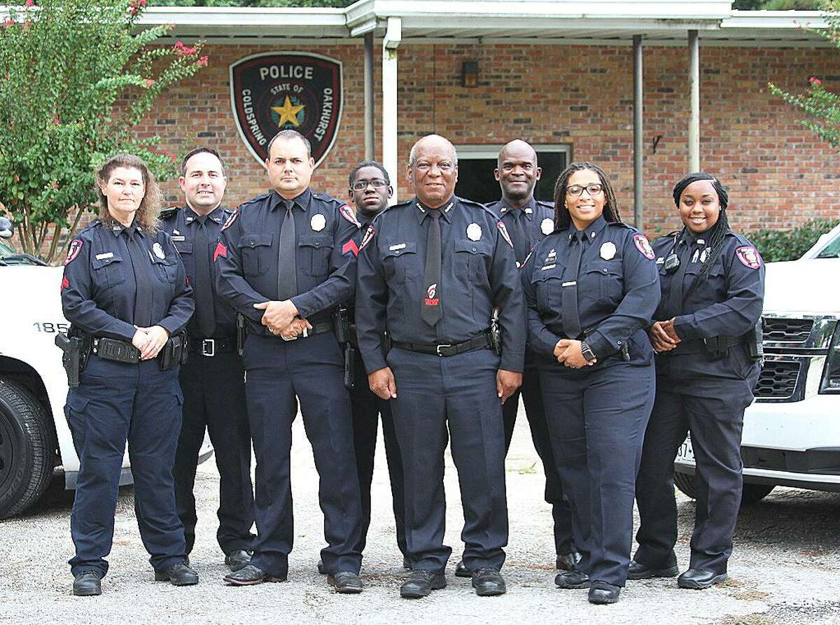 The Coldspring-Oakhurst Consolidated ISD Police Department had several promotions and the chief has established a chain of command with his new officers.