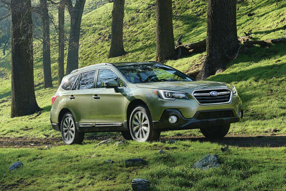 This undated photo provided by Subaru of America shows the 2018 Subaru Outback, a vehicle that carries a zero percent financing offer in September. Many automakers are dropping their zero percent offers, which are becoming more expensive to provide to buyers because of rising interest rates.