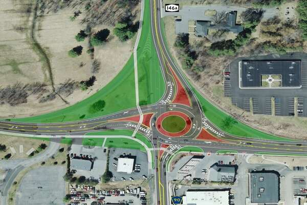 The state Department of Transportation is developing a project to upgrade the Route 146 and Route 146A intersection in Clifton Park. A public information meeting is scheduled for Sept. 20, 2018, at the Clifton Park Senior Community Center. (NYS Department of Transportation)
