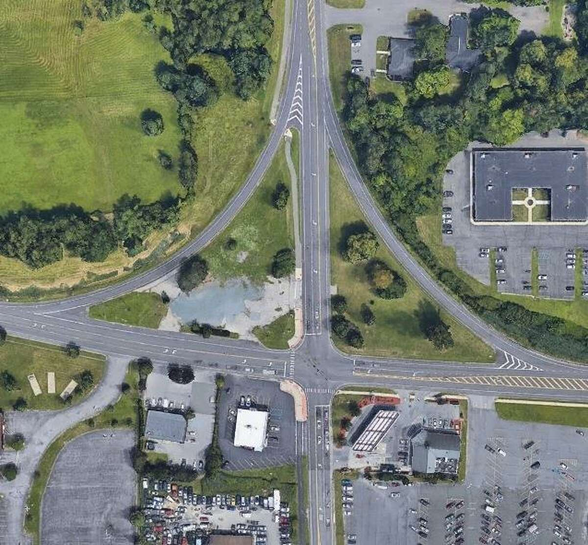 The state Department of Transportation is changing the Route 146 and Route 146A intersection in Clifton Park. (NYS Department of Transportation)