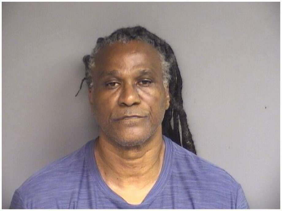 Ronald Smith, 62, of Stamford, was charged with narcotics possession when an unannounced inspection of his Stillwater Avene home by a parole officer turned up 50 bags of crack and powder cocaine on Thursday. Photo: Stamford Police / Contributed