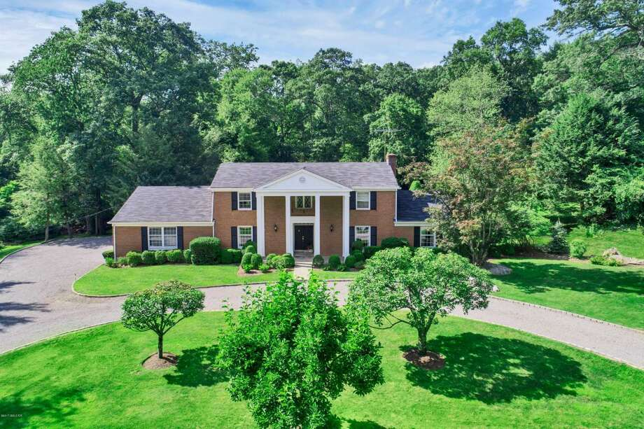 This center hall colonial at 31 Baldwin Farms North is the buy of the week. Photo: Courtesy Of The Multiple Listing Service