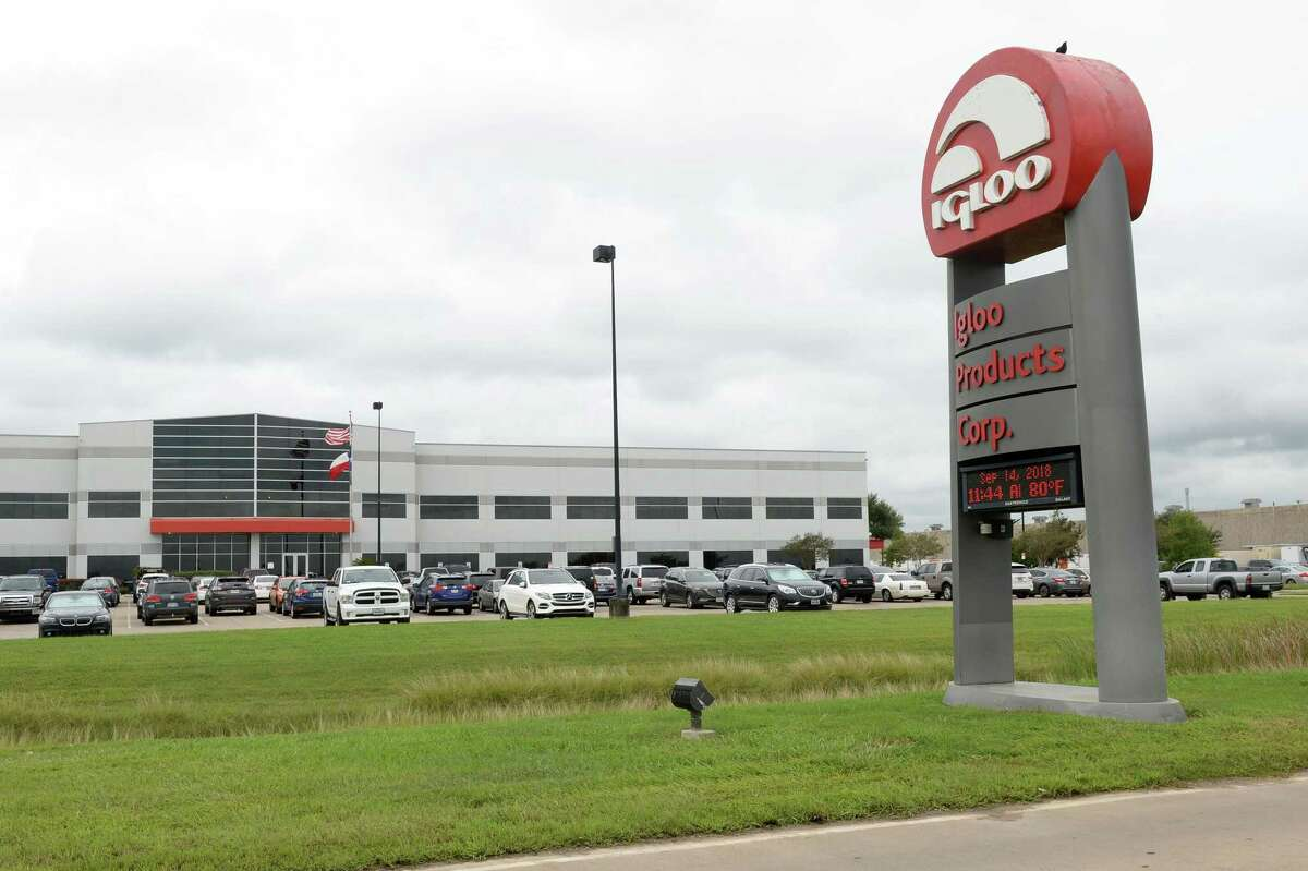 The headquarters for Igloo Products Corporation at 777 Igloo Road in Katy on Sept. 14.