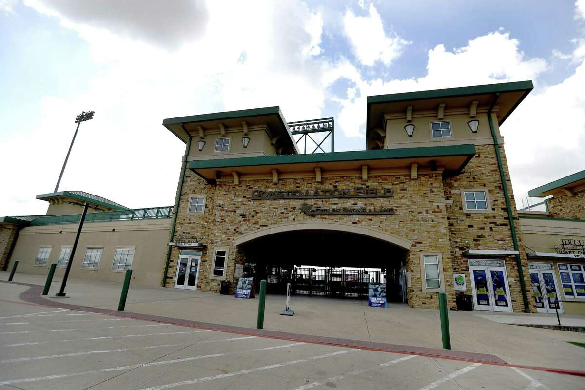 Exterior of Constellation Field home of the Sugar Land Skeeters, Friday, August 17, 2018, in Sugar Land.