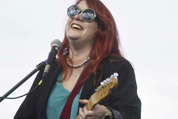 Austin blues queen Carolyn Wonderland is set to perform at a free concert on Saturday, Sept. 29, at Levy Park.