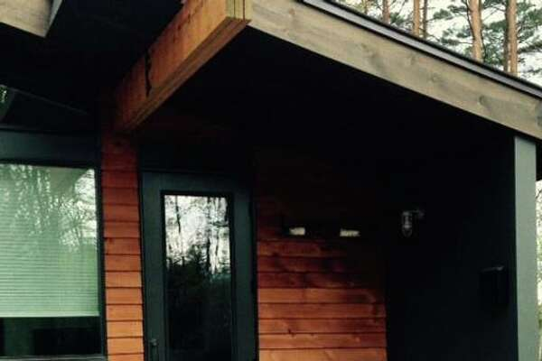 "Lake Placid. 2 Bedroom Eco Tiny House. Price: $120. ""A unique, new and eco-friendly 'Tiny Home' built with style and comfort in mind. This two-bedroom house is great for families and couples alike. Located just minutes outside of the Village Lake Placid and Saranac Lake, perfect for your Adk. vacation and super convenient to shopping, groceries and all things fun."" View full listing on Airbnb."