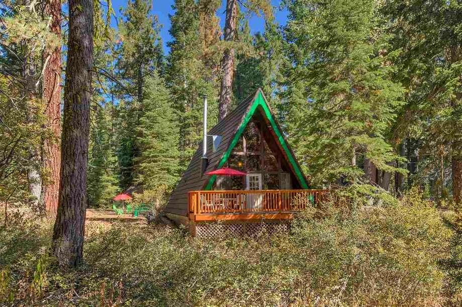 Vintage A-frame in Tahoe has been in same family since the 1970s, now yours for $650K Photo: Photo-tecture