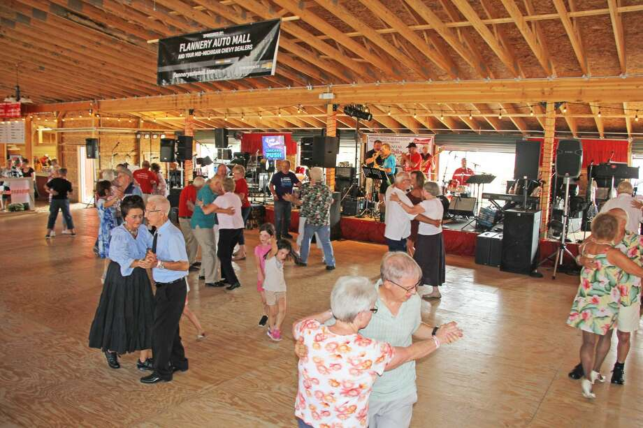 The Kinde Polka Fest put together another top notch music event at the Friends of Kinde Palace during the weekend. A total of seven bands played throughout the three-day celebration, as fans hopped across the dance floor in delight all weekend long. Photo: Seth Stapleton/Huron Daily Tribune