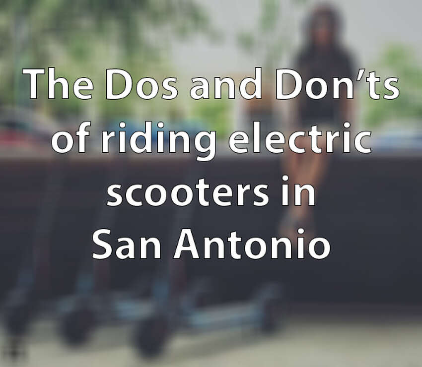 If the San Antonio City Council passes a proposed set of regulations, there will be a number of rules to follow when riding and parking electric scooters in the city. Click through to see the dos and don'ts that will come into law if the regulations are passed in October.