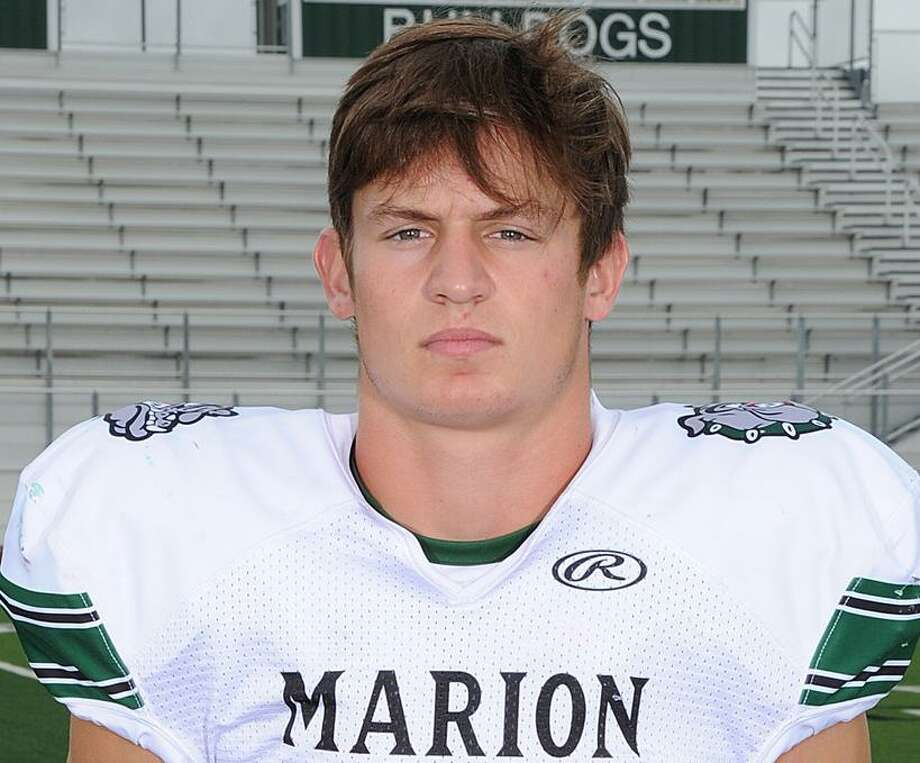 Tayler Mills led Marion to a victory over Blanco. Photo: /