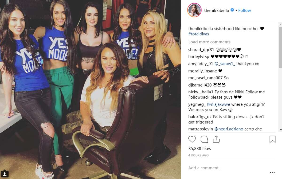 thenikkibella: sisterhood like no other #totaldivas