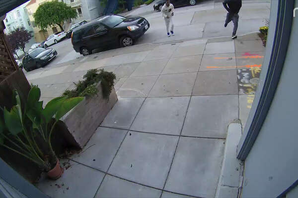 Three men involved in a mugging in Dolores Park were caught on security camera.