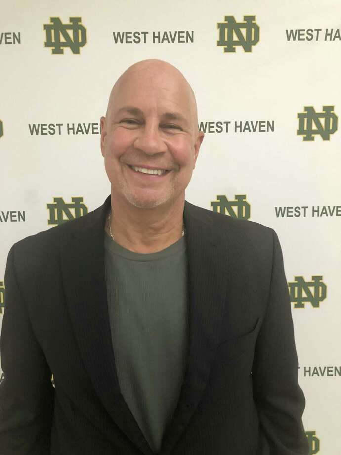 Larry Vieira, who has coached the New Fairfield/Immaculate co-op team the past six seasons, was named the new Notre Dame-West Haven boys hockey coach on Monday. Photo: Submitted