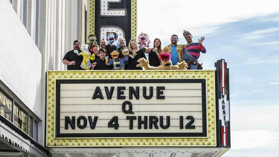"The Warner Theater Attracts nationally known productions such ""Avenue Q."" Photo: Contributed Photo / Not For Resale"