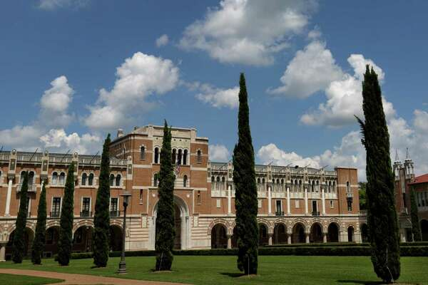 File photos shows the campus of Rice University in 2015.