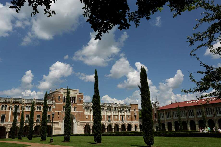 Rice University campus in Houston. Photo: Gary Coronado, Staff / Houston Chronicle / © 2015 Houston Chronicle