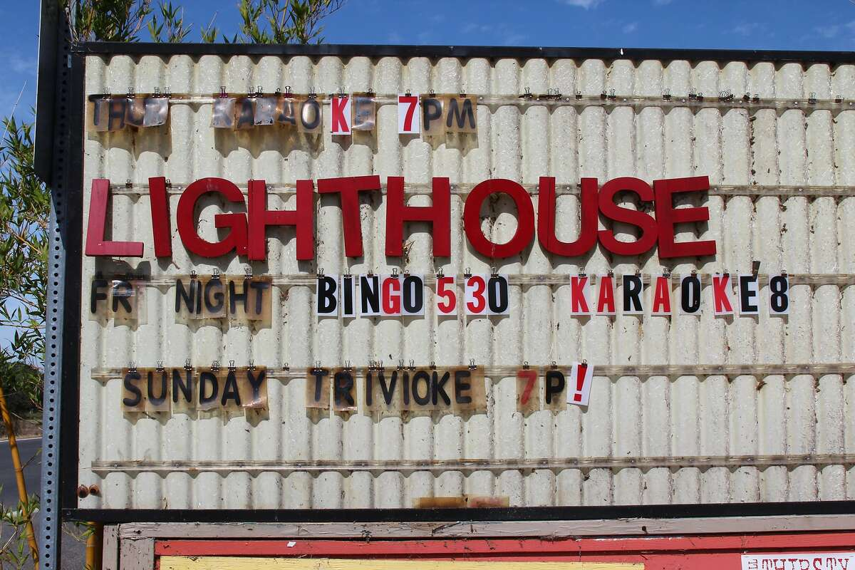 The Lighthouse Bar and Grill on Brannan Island is a funky hangout overlooking on the Mokelumne River that offers live music, an outdoor patio and kayak rentals.
