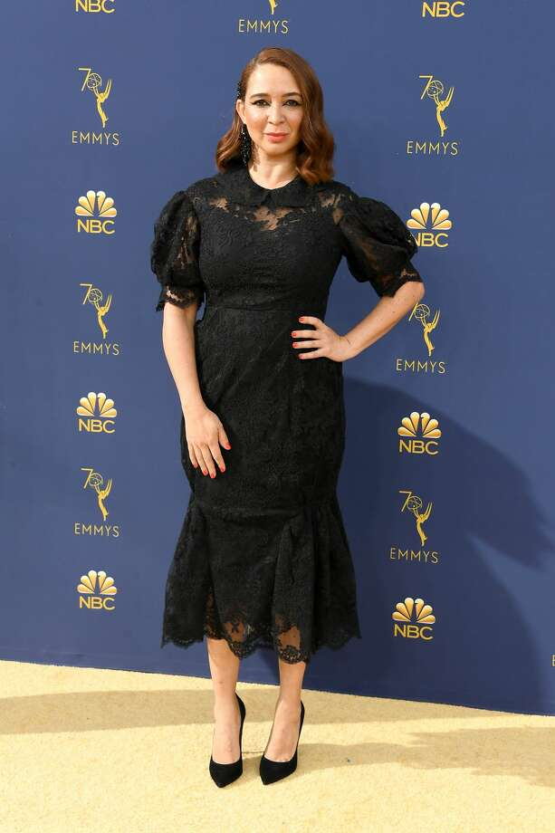 LOS ANGELES, CA - SEPTEMBER 17:  Maya Rudolph attends the 70th Emmy Awards at Microsoft Theater on September 17, 2018 in Los Angeles, California.  (Photo by Steve Granitz/WireImage,) Photo: Steve Granitz/WireImage
