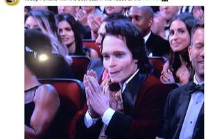 "Teddy Perkins, a villainous character from the second season of ""Atlanta"" on FX, appeared front-row at the 70th Annual Emmy Awards on Monday, Sept. 17, 2018.  Perkins was played by ""Atlanta"" creator Donald Glover."
