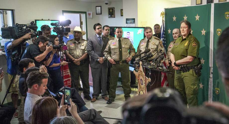 Chief of Border Patrol Carla L. Provost responds to questions about Juan David Ortiz on Monday, Sept. 17, 2018 at the Webb County Sheriff's office. Photo: Danny Zaragoza /Laredo Morning Times
