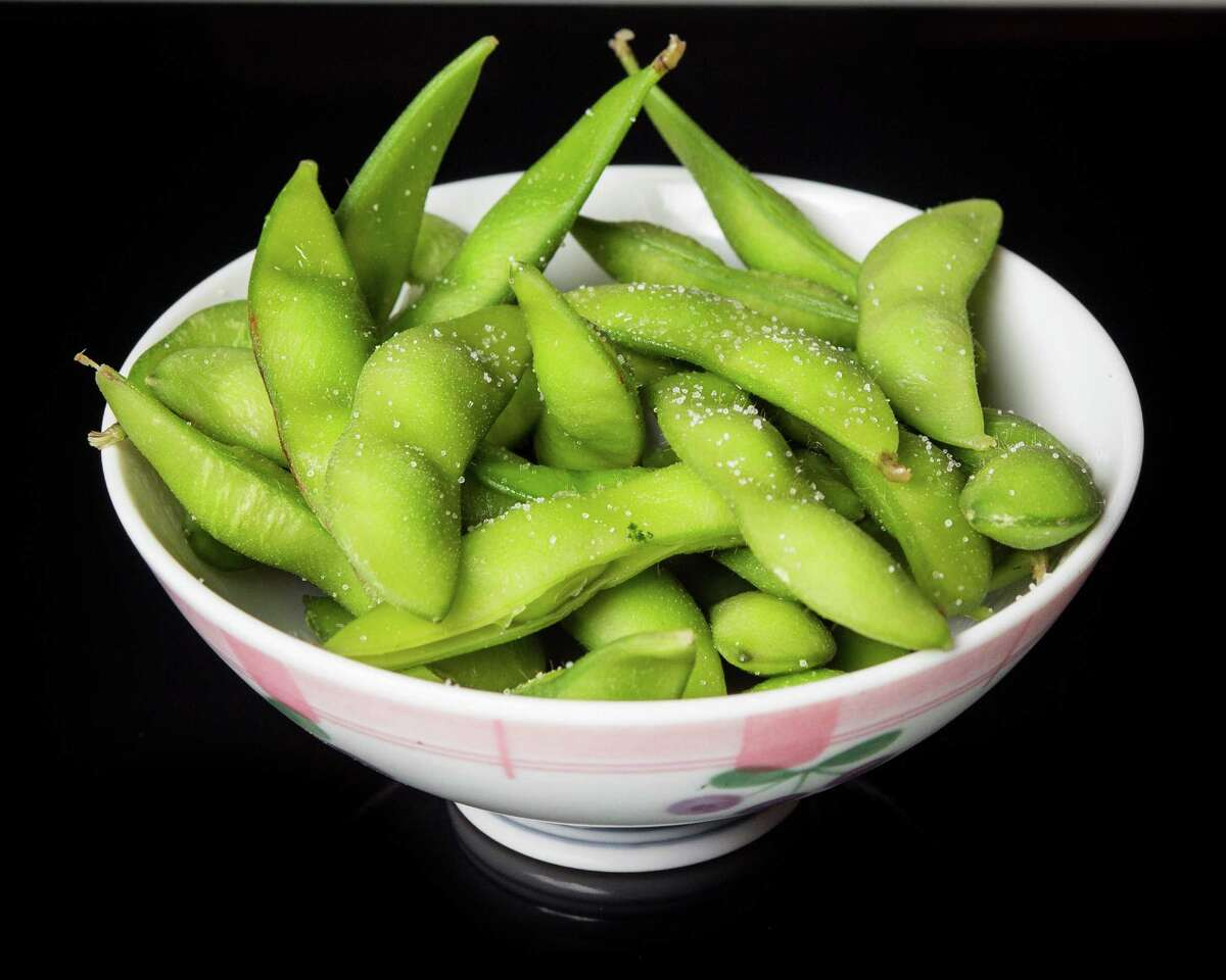 Edamame This is used as a salad topping in HISD schools.