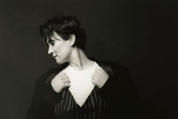 "Singer and songwriter k.d. lang is on tour for the 25th anniversary of he breakthrough album ""Ingenue."""