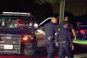 The shooting is believed to have been sparked by a traffic disturbance at about 4 a.m. on Loop 410 near Evers Road.