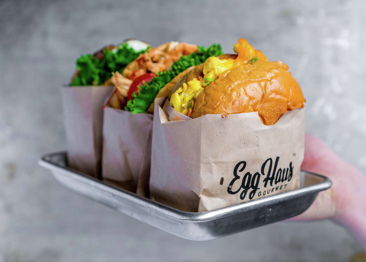 EggHaus Gourmet is a new breakfast eatery specializing in gourmet kolaches, egg sandwiches, breakfast tacos, coffee and matcha, opening Sept. 21 at 2042 East T.C. Jester.