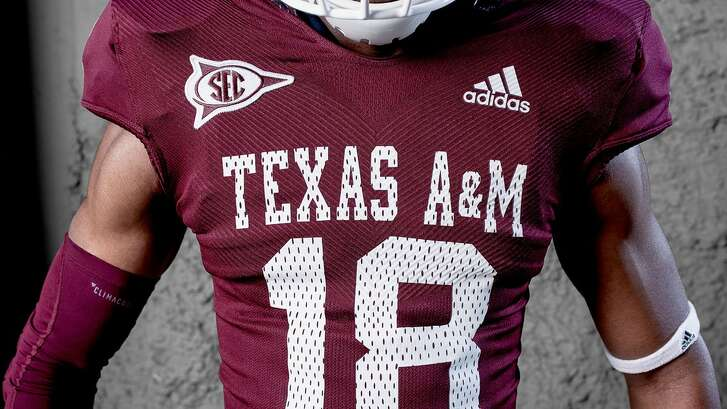 Texas A&M will wear these throwback jerseys on Oct. 6 when it plays host to Kentucky at Kyle Field.