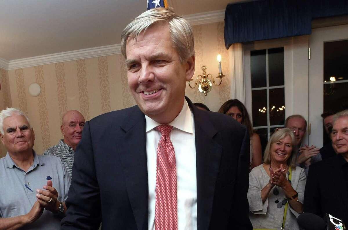 Republican Bob Stefanowski of Madison.