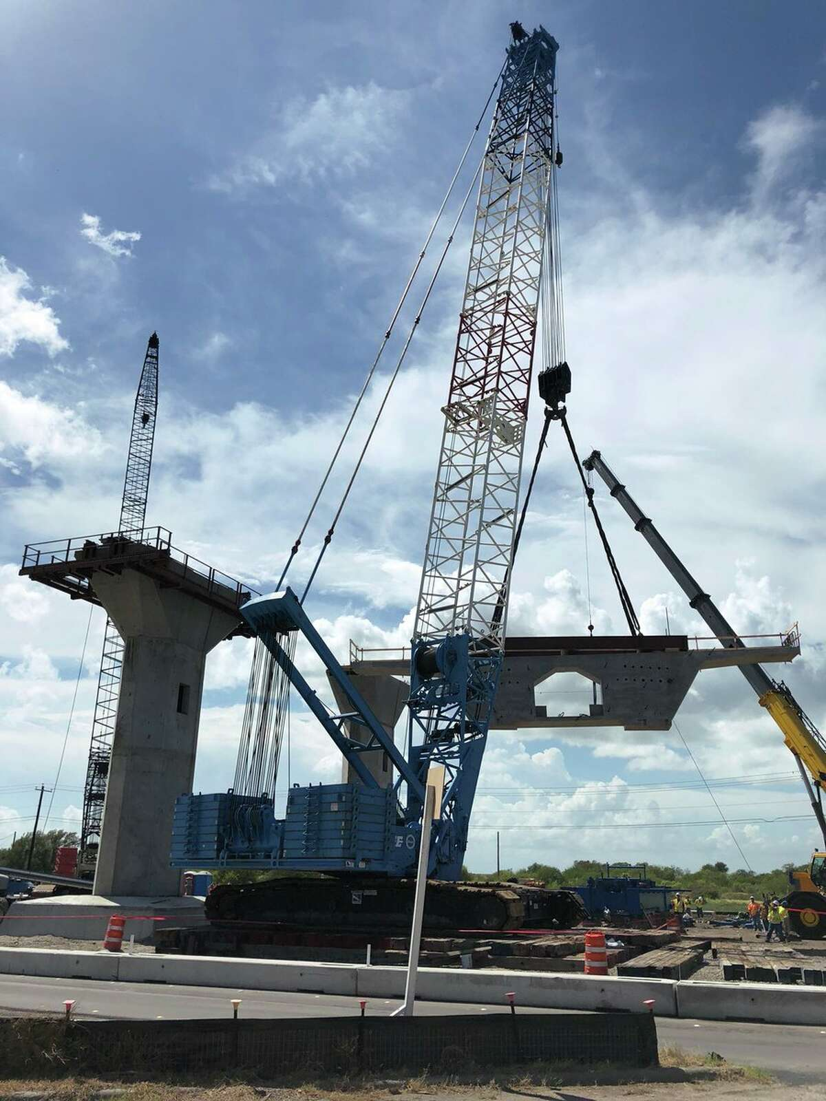 The new Harbor Bridge is beginning to take shape in Corpus Christi. It's expected to be completed in 2020.