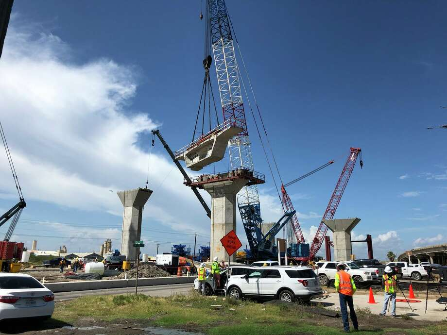 The new Harbor Bridge is beginning to take shape in Corpus Christi. It's expected to be completed in 2020. Photo: TxDOT Corpus Christi