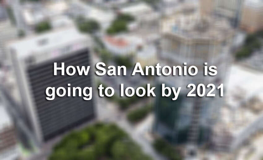Big changes are planned for San Antonio. Click ahead to see how San Antonio is going to look in just a few short years.