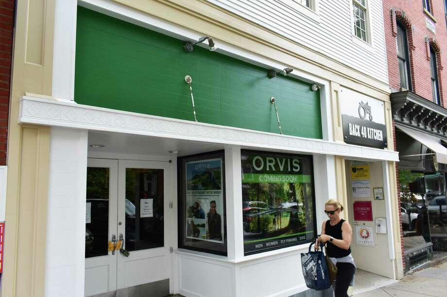 Orvis set an opening date of Saturday, Sept. 22, 2018, for its planned store at 107 Greenwich Ave. in Greenwich, Conn. Photo: Alexander Soule / Hearst Connecticut Media / Stamford Advocate