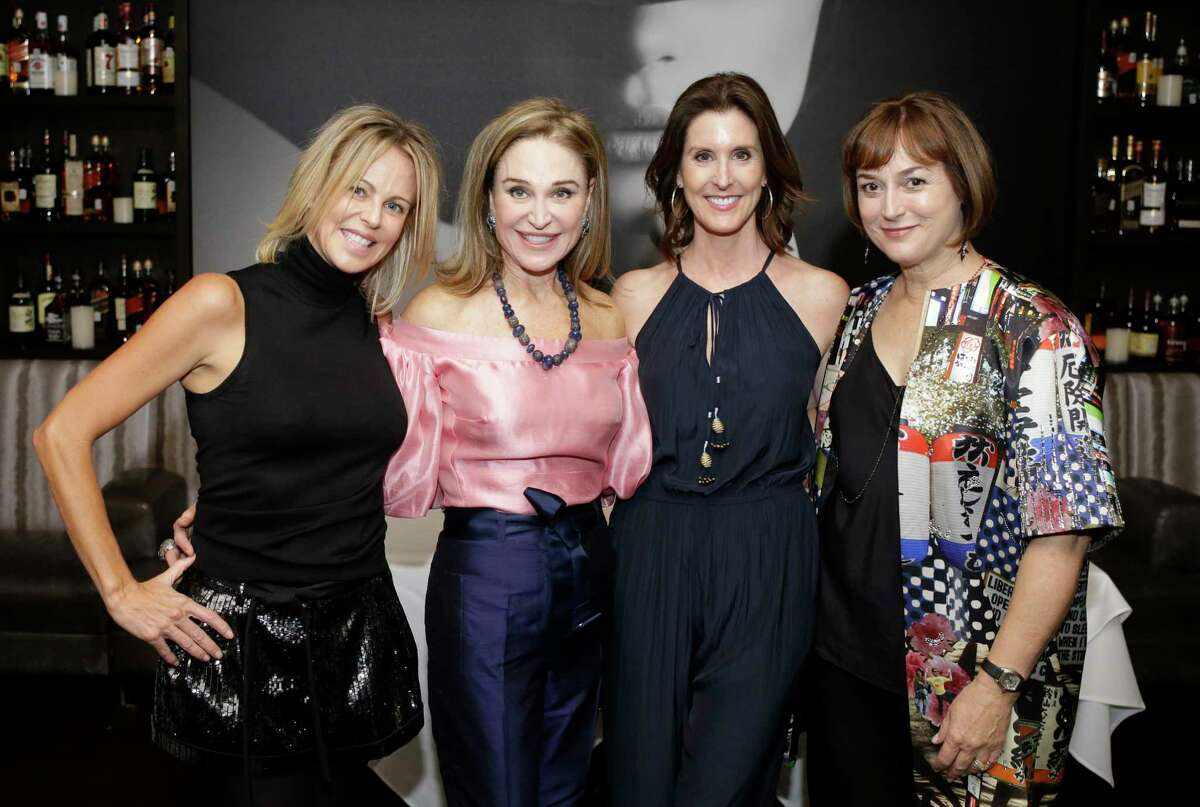 Elizabeth Petersen, left, Becca Cason Thrash, Phoebe Tudor, and Leigh Smith, right, are shown at Steak 48, 4444 Westheimer Road, Monday, Sept. 17, 2018, in Houston.