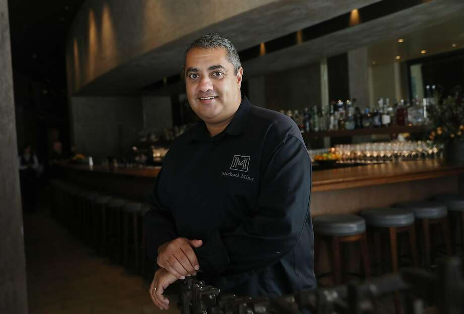 Michael Mina has more than 40 restaurants. His latest venture is a live-fire cooking restaurant in Wine Country. Photo: Lea Suzuki / The Chronicle