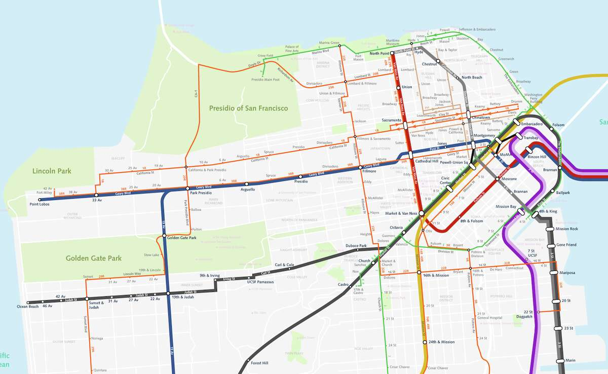 Imaginative Maps Show What Bay Area Transit Could Look Like In 2050 Bay area rapid transit (bart) is a heavy rail rapid transit system in the san francisco bay area in california, united states. bay area transit could look like in 2050