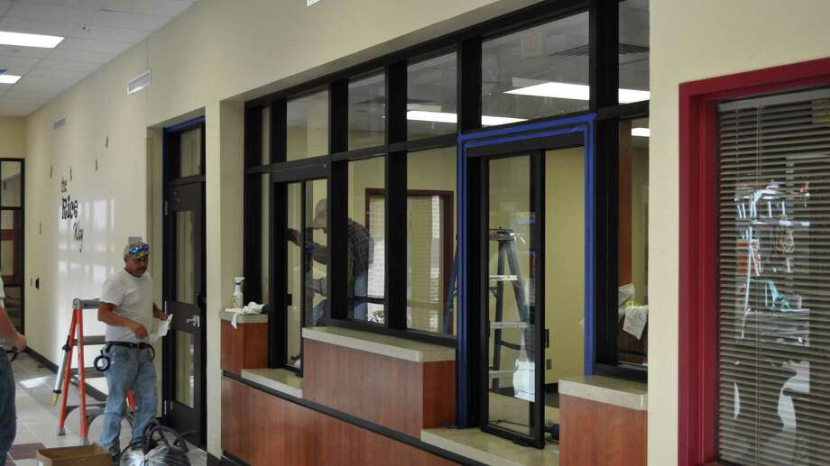 Conroe Independent School District's newest campuses, such as Rice Elementary in Conroe, include safety features such as secure vestibules as part of the district's 2015 bond package. The district recently formed a new Facilities Planning Committee to evaluate a possible 2019 bond referendum. Photo: CISD / CISD