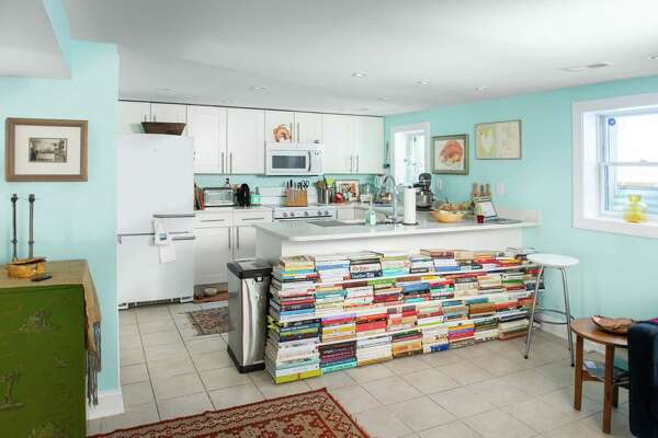 Washington Post deputy Food editor/recipes editor Bonnie S. Benwick has made the most of her renovated downsized kitchen with a variety of space-saving storage techniques.