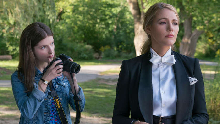 "This image released by Lionsgate shows Anna Kendrick, left, and Blake Lively in a scene from ""A Simple Favor."" Photo: Peter Iovino/Lionsgate Via AP"