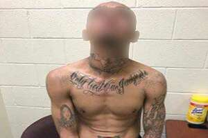 An alleged member of the Southwest Cholos Gang was arrested near Hebbronville, according to Border Patrol.
