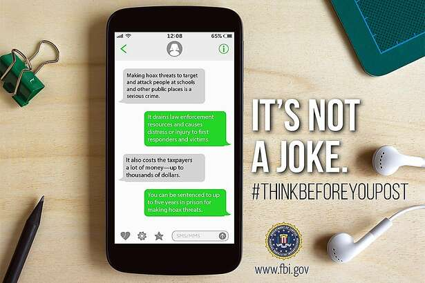 The Federal Bureau of Investigation is seeking to educate the public on the dangers of posting hoax threats against schools.