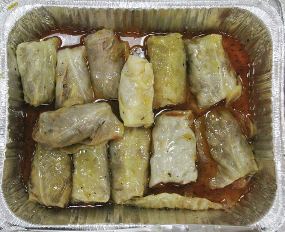 Cabbage rolls and other ethnic foods will be among the sites at the annual Lincoln Place Heritage Festival, set for Saturday in Granite City. The festival celebrates a multitude of ethnic cultures that came through the area from the 1870s through the 1950s. Because of financial difficulties, this festival is expected to be the last. Photo: Scott Cousins | The Telegraph