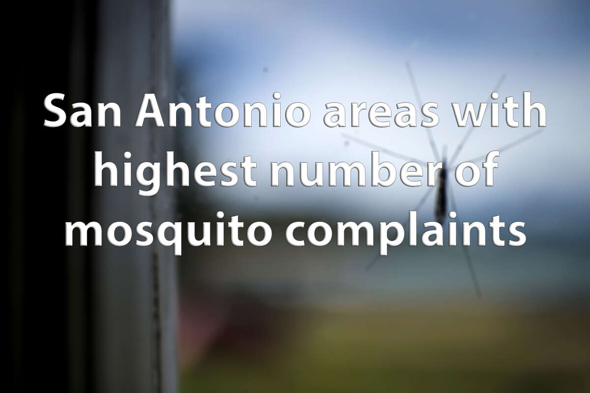 Over the past year, more than 400 complaints have been made about mosquitoes in public areas, according to data obtained from the city. Click through the slideshow to see which areas had the highest number of complaints.