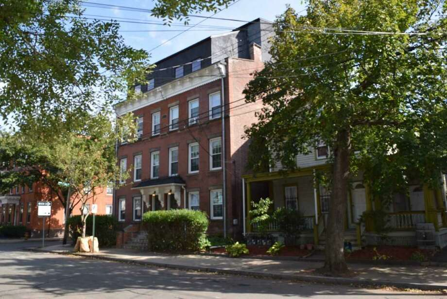 The multi- family apartment complex at 36-38 Lyons St. in New Haven. Photo: Contributed Photo