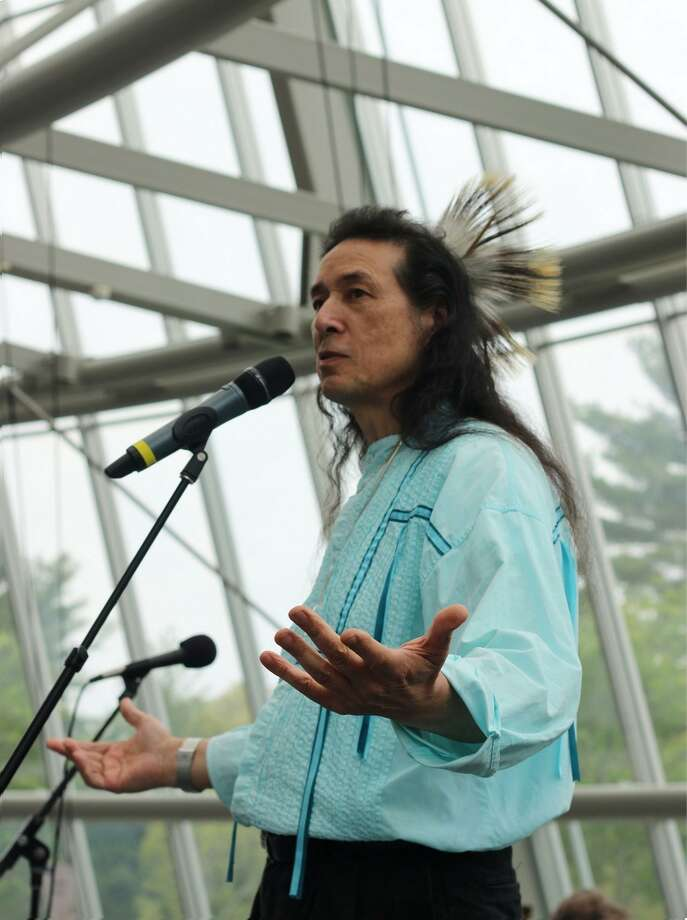Tchin, Native American storyteller, will be at the festival. Photo: Tchin / Contributed Photo