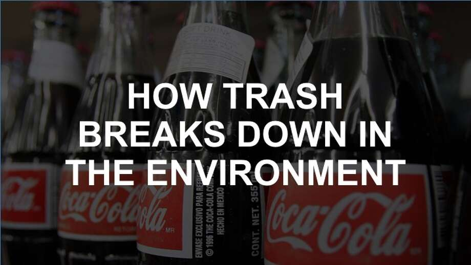Click through the slideshow to see how different kinds of trash break down in the environment. Photo: Ric Feld/STF