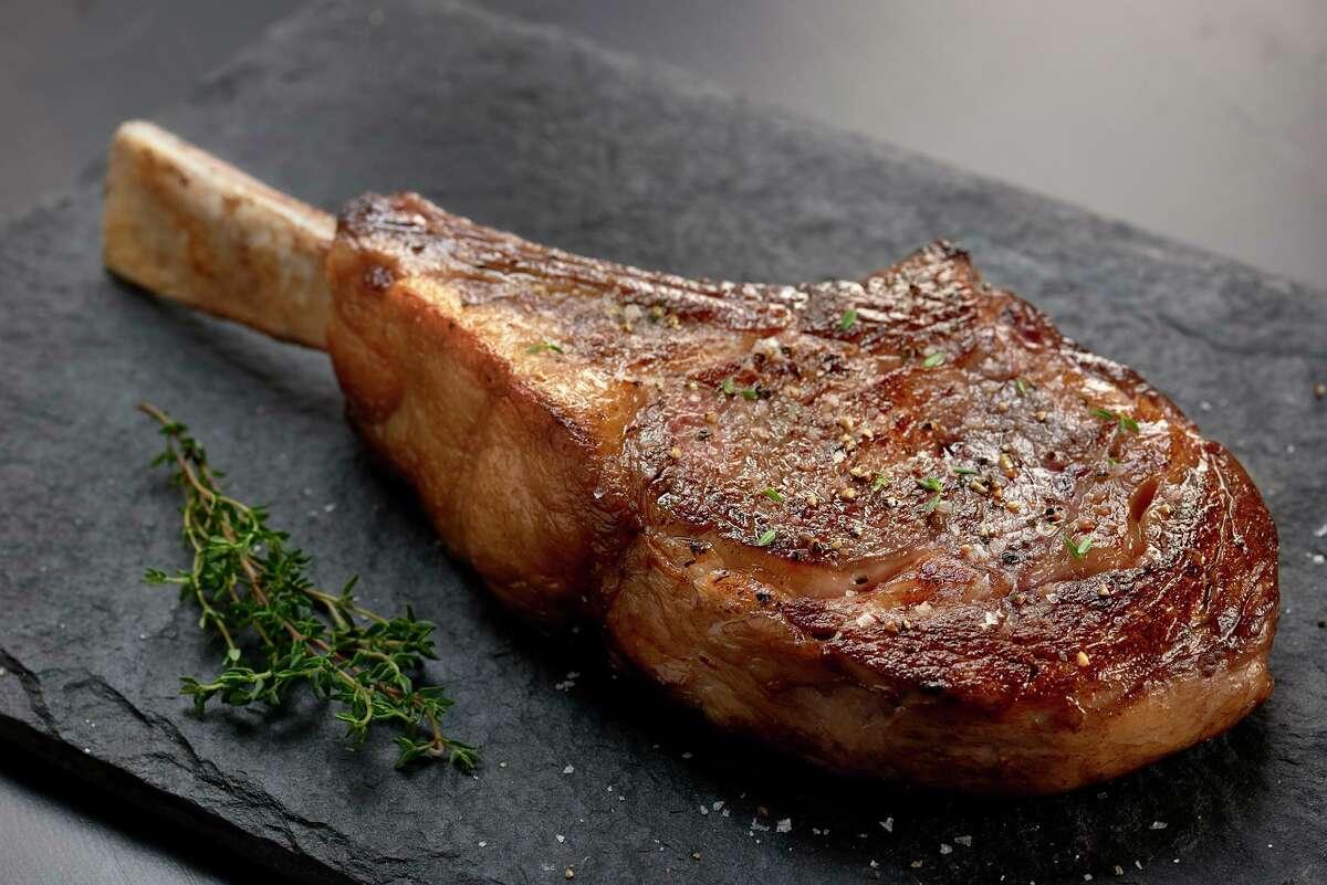 Tomahawk steak at Vic & Anthony's