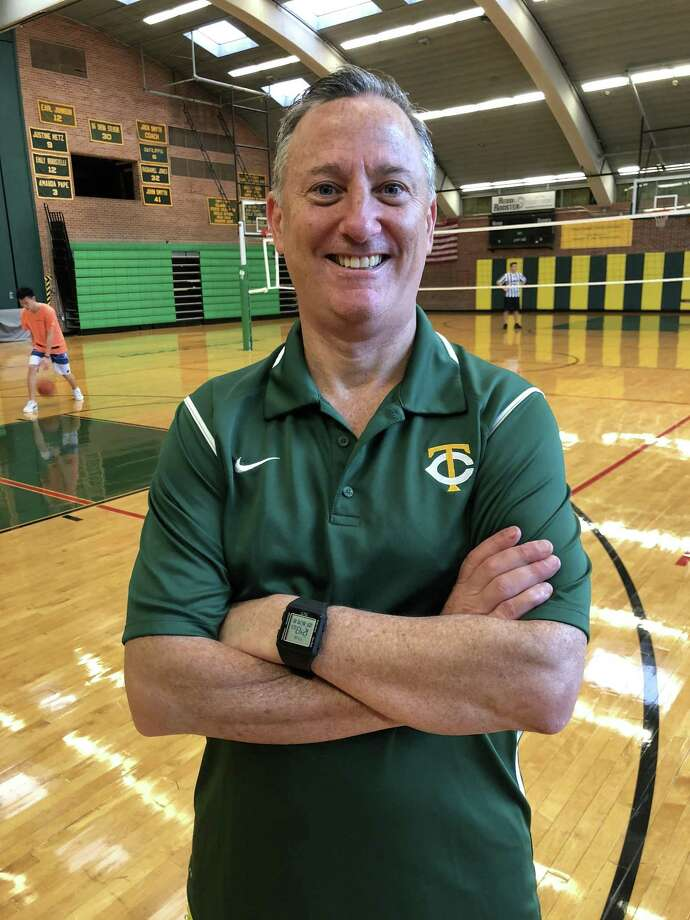 Trinity Catholic High School has announced Brian Kriftcher as its new boys basketball coach, its first in 39 years, on Tuesday, September 18, 2018. Photo: Contributed Photo / Contributed Photo / Greenwich Time Contributed